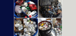 household items wanted for safe disposal CFLs, cans, batteries