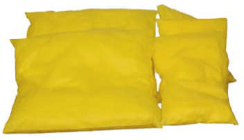 Yellow Polypropylene Haz-Mat Spun Bond Pillows