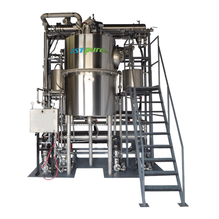 Continuous Flow Solvent Recycling Systems