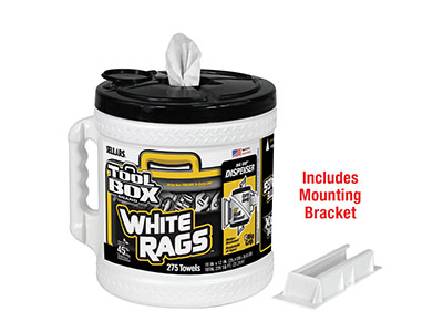 20420 - DISPENSER WHITE RAGS