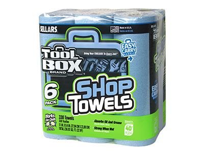 54416 - SHOP TOWELS ROLL 6 PK