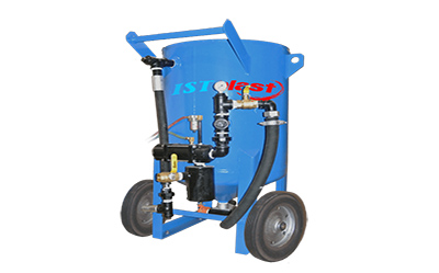PPB-646 SANDBLASTER 6-5 CUBIC FT PRESS VESSELS